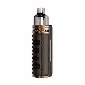 VOOPOO DRAG X Mod Pod Kit with 4.5ml PNP Pod, Cigarette électronique, Pas de batterie, sans e liquide, sans nicotine (Bronze Knight)