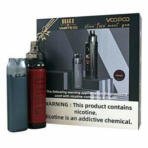 Voopoo Vmate Pod Kit & Drag X Coffret cadeau édition limitée – Sans nicotine (Marsal)