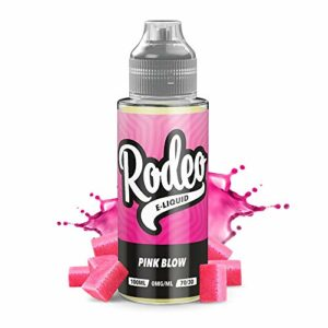 100ml Bubble-Gum E-liquide, 70/30, Vape Juice Liquid eJuice E Cigarette Liquid, Sans Nicotine, 120ml Bouteille (Rodeo E-Liquid)