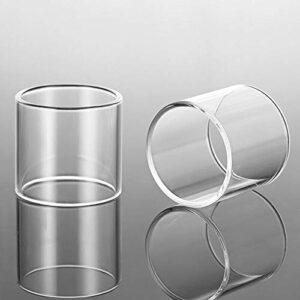 2pcs Remplacement du réservoir de verre Ajustement pour Innokin Fit pour Zenith 24 D22 PRO Forme pour Plexus Plexar Fit pour MVP5 Ajax Kit Tank Verre Pyrex ( Taille : Fit for Plexus Tank 4ml )