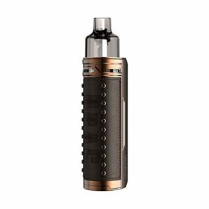 60W VOOPOO Drag S Pod Vape Kit with 2500mAh Battery, pas de nicotine, pas de e liquide (Bronze Knight)