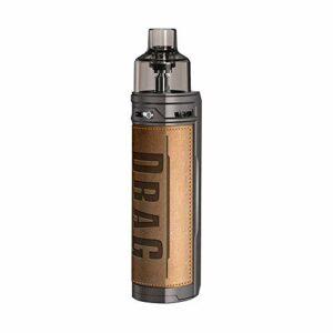 60W VOOPOO Drag S Pod Vape Kit with 2500mAh Battery, pas de nicotine, pas de e liquide (Retro)