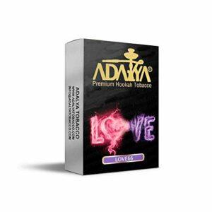 ADALYA Narguilé Saveurs Accessoires Shisha Accessoires Cigarette Cigarette Chicha 10pcs 500g (Love 66)