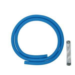 ADMY® Shisha Le tuyau en silicone peut être utilisé avec tous les tuyaux disponibles dans le commerce (bleu)
