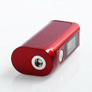 Asmodus Colossal Box mod électronique 80 W avec chipset GX 80 HUT V2 et écran tactile OLED (Rouge)