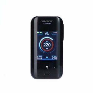 Cigarette électronique Vaporesso LUXE 2 Box MOD Vaporesso LUXE II Mod Max 220W Output, sans eLiquide, sans nicotine (Noir)