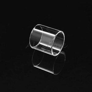 Denghui-ec 2pcs Remplacement Clear Pyrex Tube DE Verre Pyrex FIT pour UNRF NEXMESH SUBOOHM Tank 4ML RTA 25mm