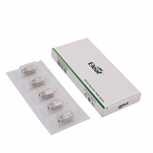 Eleaf Résistance GS Air 0.75 ohm – Pure coton – 8 à 25 Watts – Boite de 5 résistances de remplacement pour E Cigarette avec clearomiseur Eleaf GS Air