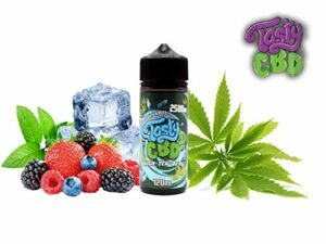 ELIQUID TASTY FRUITY CBD – HIGHZENBERG 2500MG – SANS NICOTINE (100ML)