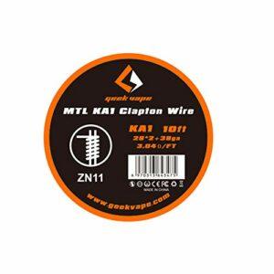 Geekvape Kanthal A1 MTL Bobine de fil fusible pour cigarette électronique 3 m