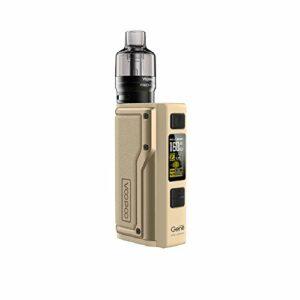 Kit VOOPOO Argus GT 160W TC d'origine avec réservoir de pod PnP de 4,5 ml – Sans Tabac Ni Nicotine (Desert Yellow)