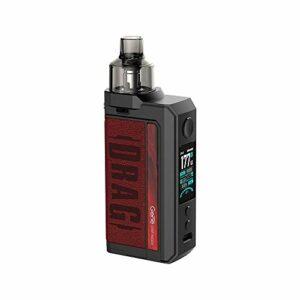 Kit VOOPOO DRAG Max 177W TC E-cigarette double 18650 Batteries avec réservoir PNP 4.5ML Compatible avec toutes les bobines PnP