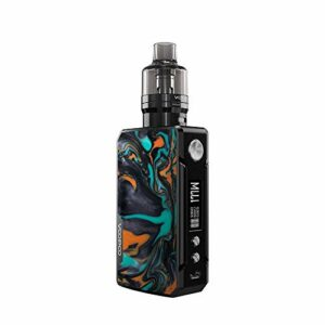 KitVo. OPoo DRAG 2 Refresh Edition Kit Drag 2 Box MOD Vape avec réservoir de pod 4.5ML PnP PnP-VM5 0.2Ω PnP-VM6 0.15Ω Vaporisateur de cigarette électronique à bobine (pas de cellule 18650)