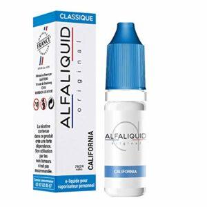 lot de 5 – California Alfaliquid 10ml – 6 mg