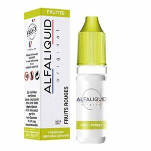 lot de 5 – Fruits Rouges Alfaliquid 10ml – 3 mg