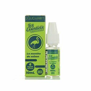 lot de 5 – La Menthe De Saison Les Essentiels By Liquidarom 10ml – 6 mg