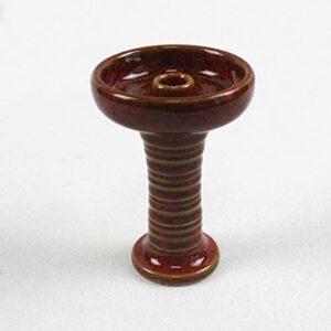 MOLINGXUAN Narguilé, Shisha, Hauteur 10.7cm, Largeur 7,5 cm, Poids 160g, Pot de Shisha, Pot de fumée