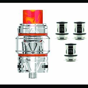Pack Clearomiseur Falcon 2 Horizontech 5,2 Ml + 1 paquet de résistances – Couleur Inox – Sans tabac ni nicotine