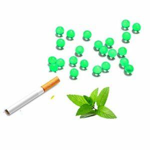 Porte-cigarette à saveur de menthe de perle de cigarette, filtres à perles aromatiques de rafale 1000PCS filtres Standard pour porte-cigarette accessoires de fumer