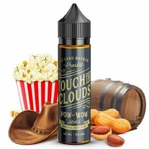 Pow wow 50ml – Touch the clouds – Sans tabac ni nicotine – Vente interdite aux personnes âgées au de moins de 18 ans – 0 MG – Genre : 40-70 ml