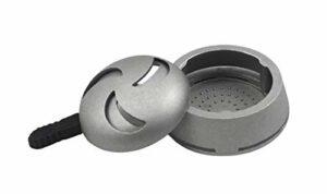 Sm0krz HEATBOX | Embout pour chicha avec gestion de la chaleur et poignée en silicone pour un toucher facile | Compatible avec diverses têtes de narguilé
