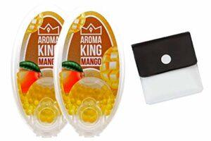 SweedZ Aroma Capsules / Perles pour cigarettes + Cendrier de poche Mango 200