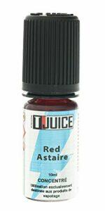 T Juice | Red Astaire | Arôme 10ml Concentré pour E Cigarettes Vape | Sans Nicotine