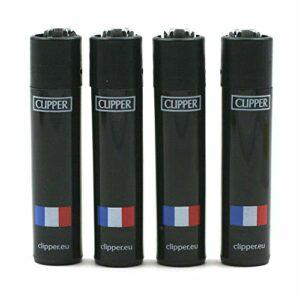 Tabac du Bassigny Lot de 4 Briquets Clipper – France