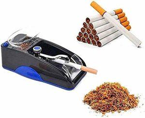 TUOYA 2021 Mise À Niveau Nouvelle Machine À Cigarettes Automatique, Outil De Bricolage Automatique Électrique Rechargeable (Couleur Aléatoire) (Color : Blau)