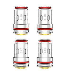 Uwell Crown V UN2-3 Bobine tricotée 0,2ohm Compatible avec le réservoir UWELL Crown V (4Pcs)