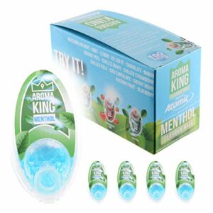 Atomic Aroma King Flavour Ball Lot de 500 boules de parfum menthol