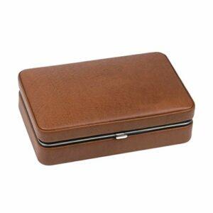 Cigare En Bois De Cèdre Portable Pour 4 Cigares Taille: 190 * 125 * 70mm (7.4 * 4.9 * 2.7in) (Couleur : B)