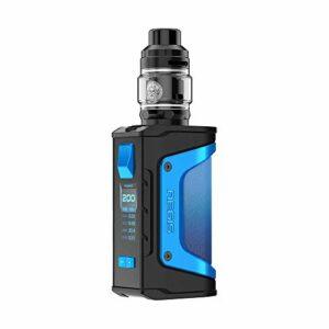 Cigarette électronique Geekvape Aegis Legend 200W TC Kit with 5ml GEEKVAPE Zeus Subohm Tank, sans batterie, sans eLiquide, sans nicotine (Light Blue)