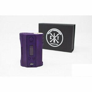 Cluttermod Graviton Boîte à cigarette électronique BF DNA puissance maximale 75 W Flacon super doux 6 ml (Violet)