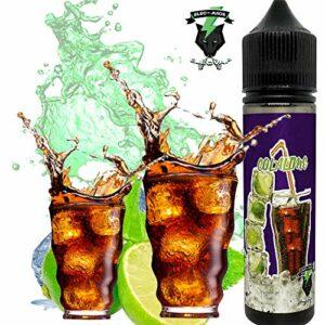 E-Liquid COLA LIME PAR ElecVap – Sans Nicotine NI TABAC- Format TPD 60ml – 0MG Nicotine – E-Liquide pour Cigarettes Electroniques – E Vaper Liquids