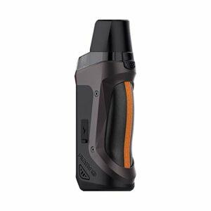GEEKVAPE Aegis Boost LE Bonus Kit Pod Pod 3.7ML Cartouche 40W Vape avec 5 bobines Vaporisateur électronique de cigarettes intégré dans une batterie de 1500 Mah