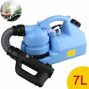 GVCTⓇ 7L Portable Electric ULV Thermal Fogger Machine Désinfection Fogging Machine Pulvérisateur, pour la désinfection des pelouses, Jardins, usines