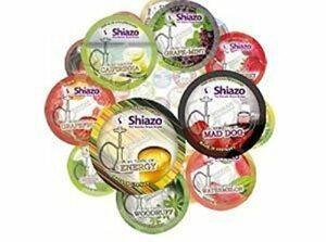 Lot de 10 pierres à vapeur pour chicha Shiazo 100 g (sans nicotine)