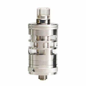 Mini réservoir d'origine Aspire Nautilus GT (acier inoxydable), atomiseur MTL de cigarette électronique 2 ml avec bobines Nautils BVC et Natilus 2S, débit d'air réglable, sans nicotine
