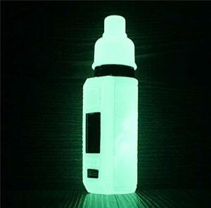 ORIN Smok Thallo – Coque en silicone texturé pour Smok Thallo 80 W – Protection antidérapante – Brille dans le noir
