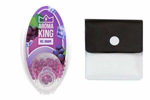 SweedZ Aroma Capsules Chilled Raisin / Perles pour Cigarette + Cendrier de poche – 100 Boules …