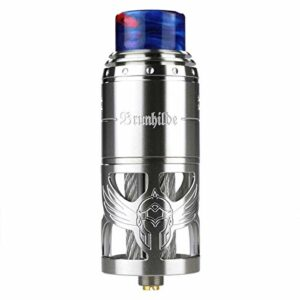 Vapefly Brunhilde Top Coiler RTA 8ML Atomiseur Cigarette Electronique – Sans Nicotine ni tabac (Inoxydable)
