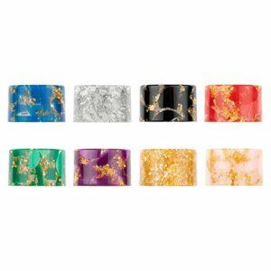 8psc,810 Drip Tip per TFV16 Tank/Mag P3 Kit/TFV8 Baby V2/ TFV-Mini V2/Mag Grip Kit/Species Kit/R-Kiss Kit (Sky Color)