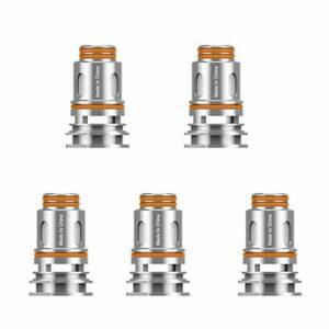 Bobine GEEKVAPE série P pour Aegis Boost Pro kit Pod 0,2ohm Mesh Vaporizer Electronic Cigarette Vaporizer Vape Coil (5pcs)