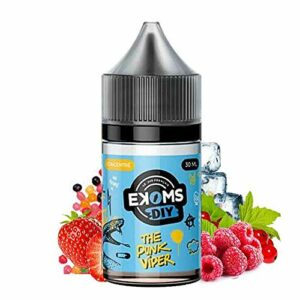 Concentré The Punk Viper 30 ml – Ekoms – Sans tabac ni nicotine – Vente interdite aux personnes âgées au de moins de 18 ans – 0 MG – Genre : 20-30 ml