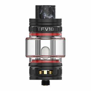 Cuve SMOK TFV18 Cuve 7,5ML Sub Ohm Cuve 31,6mm Atomiseur électronique Adapté à la cigarette TFV18 Maille TFV18 Maille Double RBA Bobine