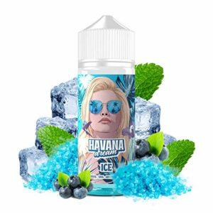 E-Liquid ICE   100ML TPD   HAVANA DREAM   Sans Nicotine NI TABAC   E-Liquide pour Cigarettes Electroniques – E Vaper Liquids 70/30
