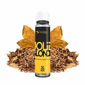 E-liquid JOLIE BLONDE   50ML TPD   FIFTY EVOLUTION   LIQUIDEO   Sans Nicotine NI TABAC   E-Liquide pour Cigarettes Electroniques – E Vaper Liquids 50/50