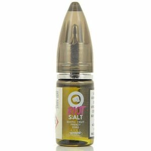 Exotic Fruit Frenzy Riot Salt Riot Squad 10ml 10 mg.