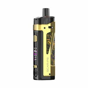 Kit SCAR-P5 Pod Vape d'origine Cartouche 5ml SCAR P5 RPM 2 Maille bobine 80W Cigarette électronique MOD Vaporisateur (Pas de cellule 18650)